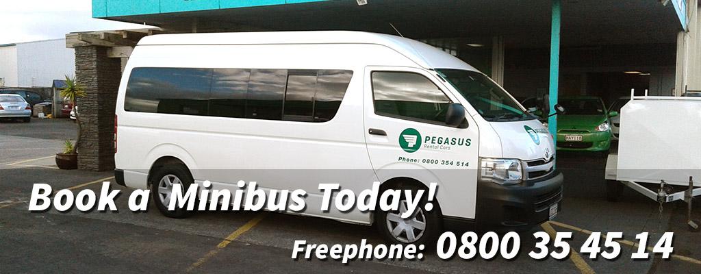Auckland Minibus Rentals - Hire Now!
